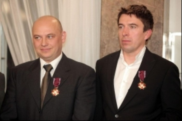 Jacek Czachor i Marek Dabrowski