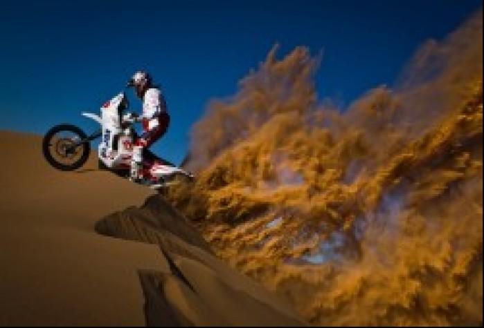 Rajd Dakar wspinaczka