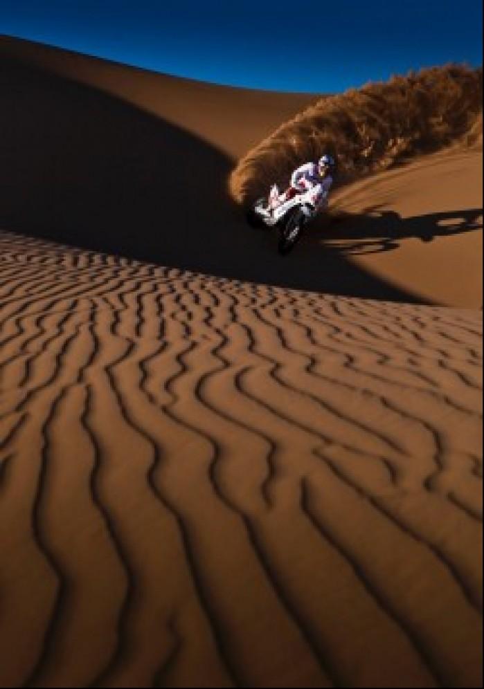 niesamowite zdjecie Dakar