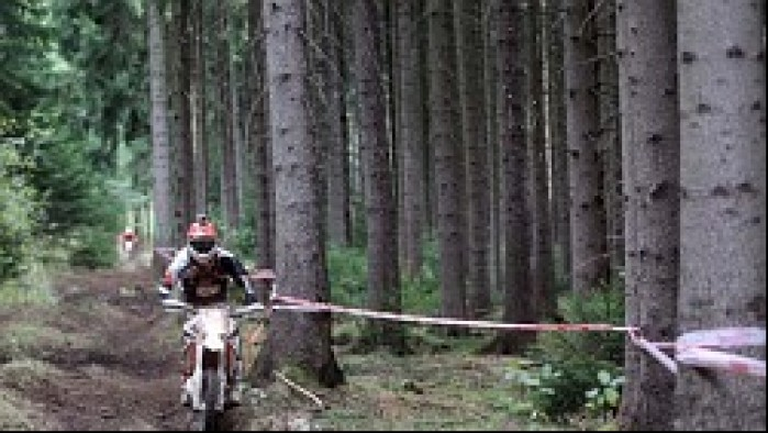 ISDE 2012 enduro test