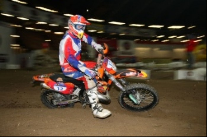 enduro indoor kinght david
