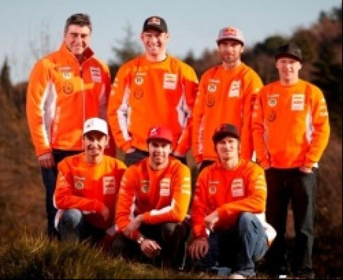 KTM Factory Enduro Team 2011