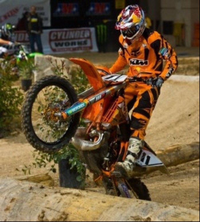 Tadek Blazusiak finalowa runda AMA Endurocross 2010 - Ruiz photo