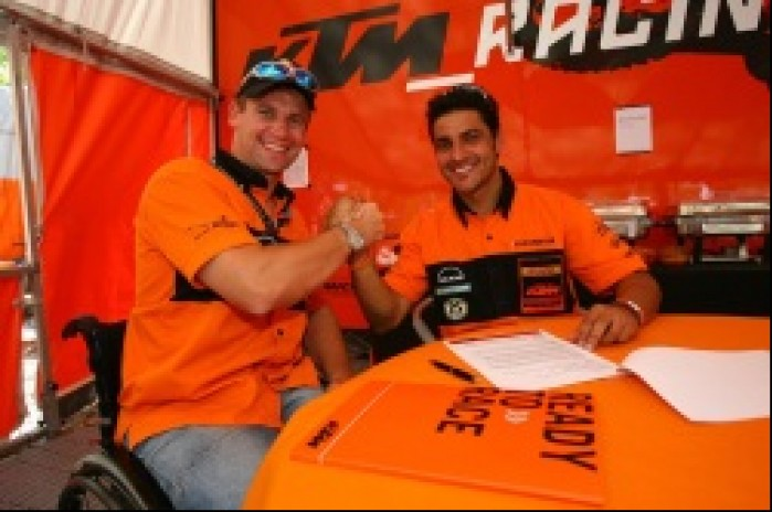 KTM contract Ivan Cervantes 2007