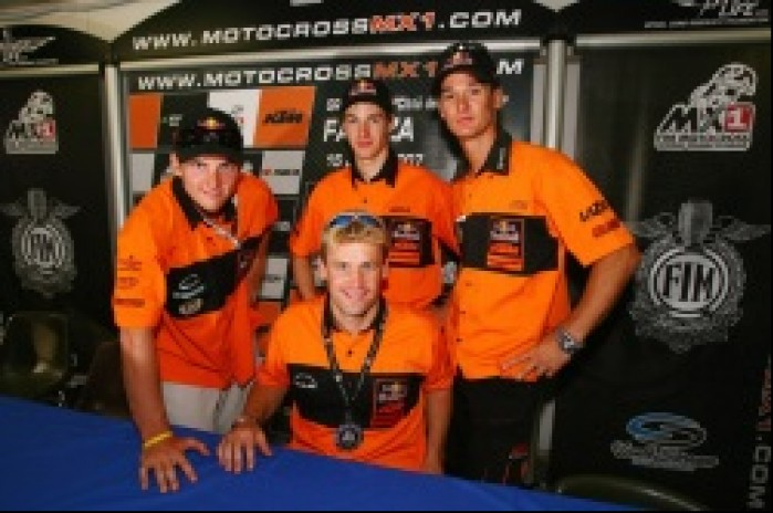 MX Everts Beirer Rattray Searle