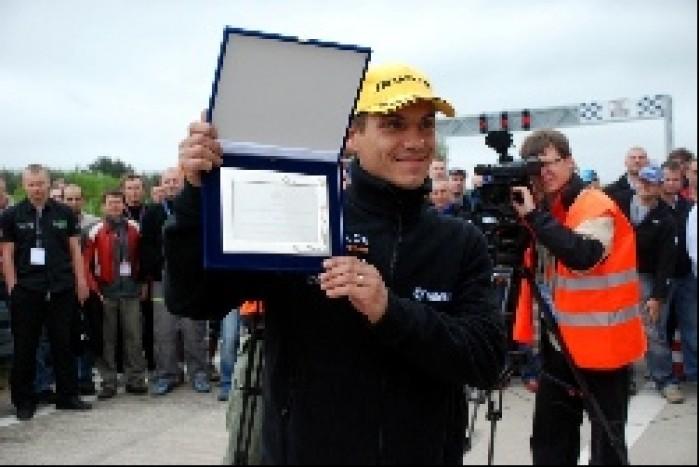 Pawel Szkopek durig wicemistrz Europy 2007