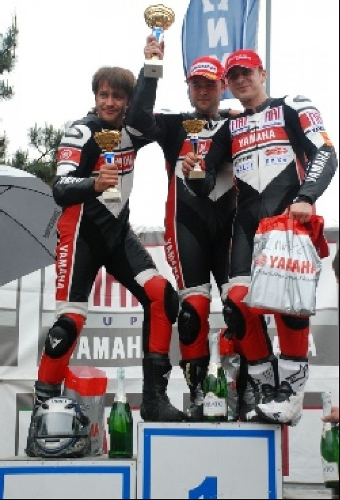 Waldek Chelkowski Konrad wilusz rozdanie nagrod Fiat Yamaha Cup