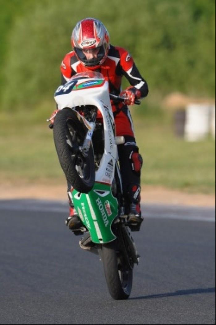 Honda CBR125R whillie