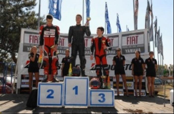 Podium Puchar Honda CBR125R