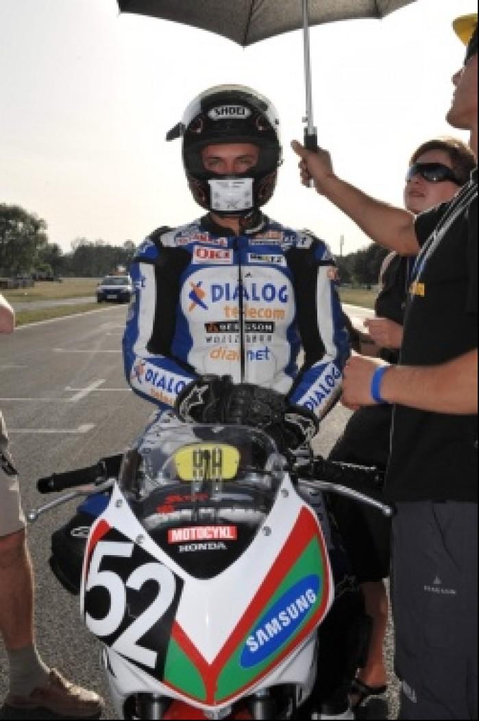 na zawodach Pucharu Honda CBR125R