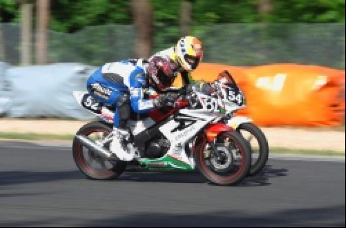 wyscig Honda CBR125R