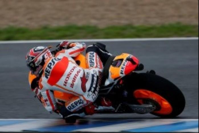 Marquez testy przedsezonowe MotoGP Jerez 2013
