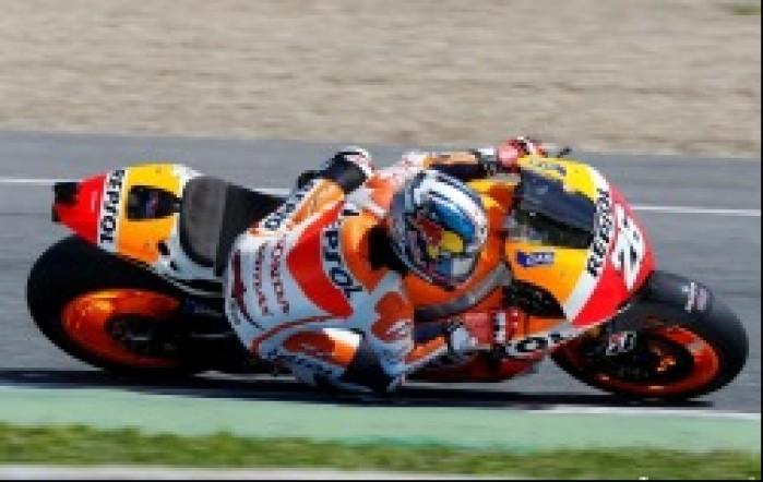 Pedrosa testy przedsezonowe MotoGP Jerez 2013