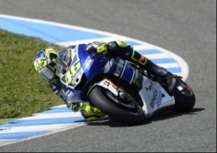 Valentino Rossi testy przedsezonowe MotoGP Jerez 2013