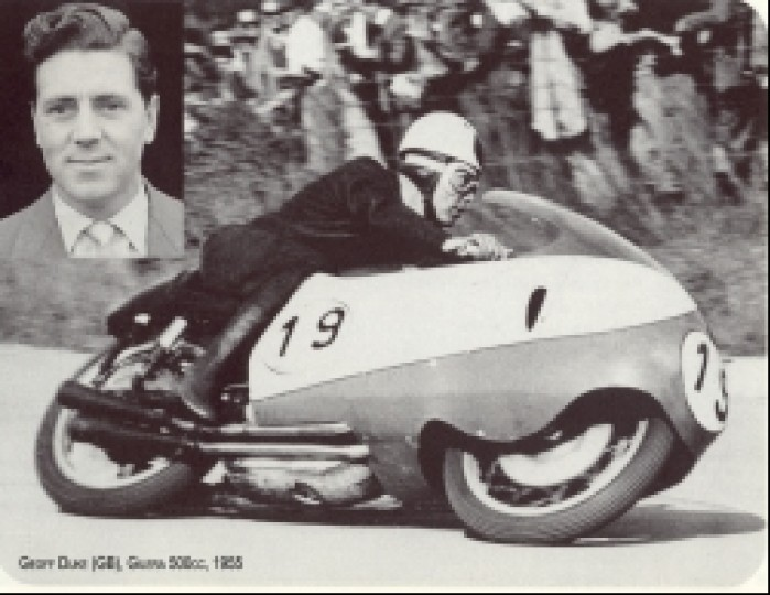 05) 1955 Gilera 500 cc Geoffrey Duke (6 Ms 33 GP)