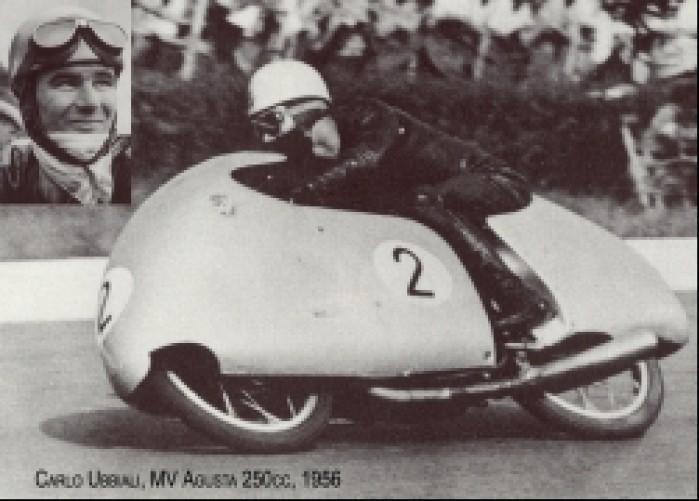 06) 1956 MV Agusta 250cc Carlo Ubbiali (9  Ms 39 GP)