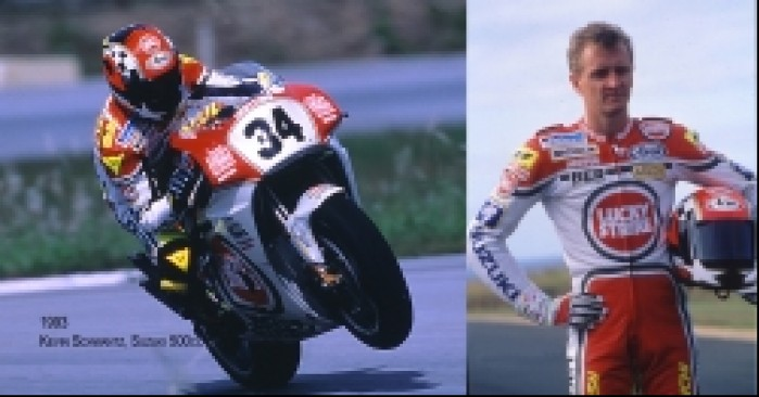 21) Kevin Schwantz brawurowy kierowca Suzuki (1988-95 25 G