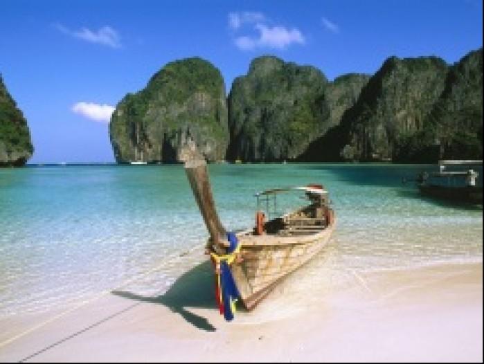 tajlandia lodka widok