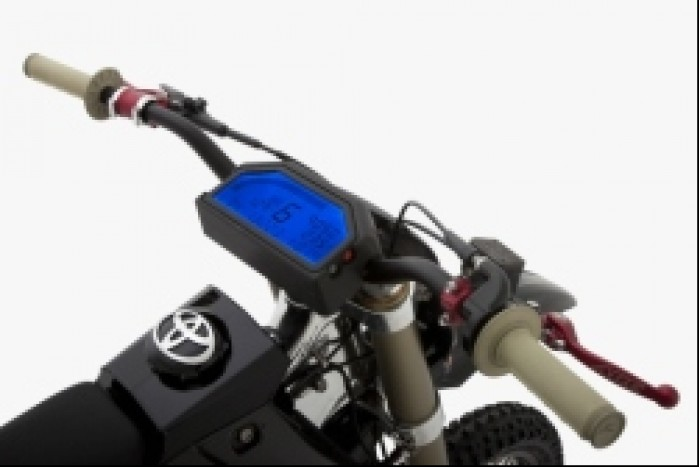 JGRMX motorcycle kokpit