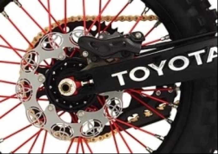tacza hamulcowa Toyota JGR MX motocykl