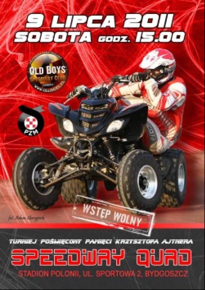 plakat bydgoszcz Speedway Quad