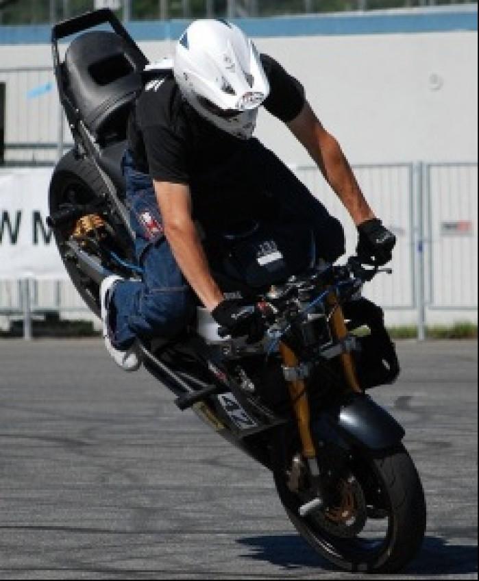 FRS Lulasz stoppie stunt Germany Open