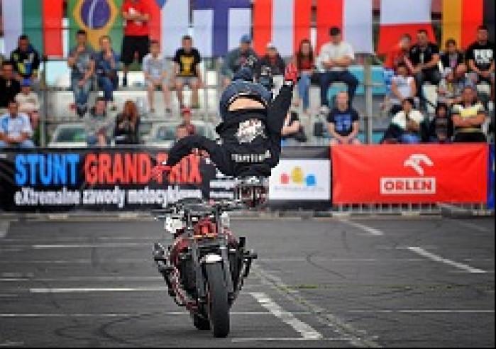 salto kwalifikacje World Stunt GP w Bydgoszczy