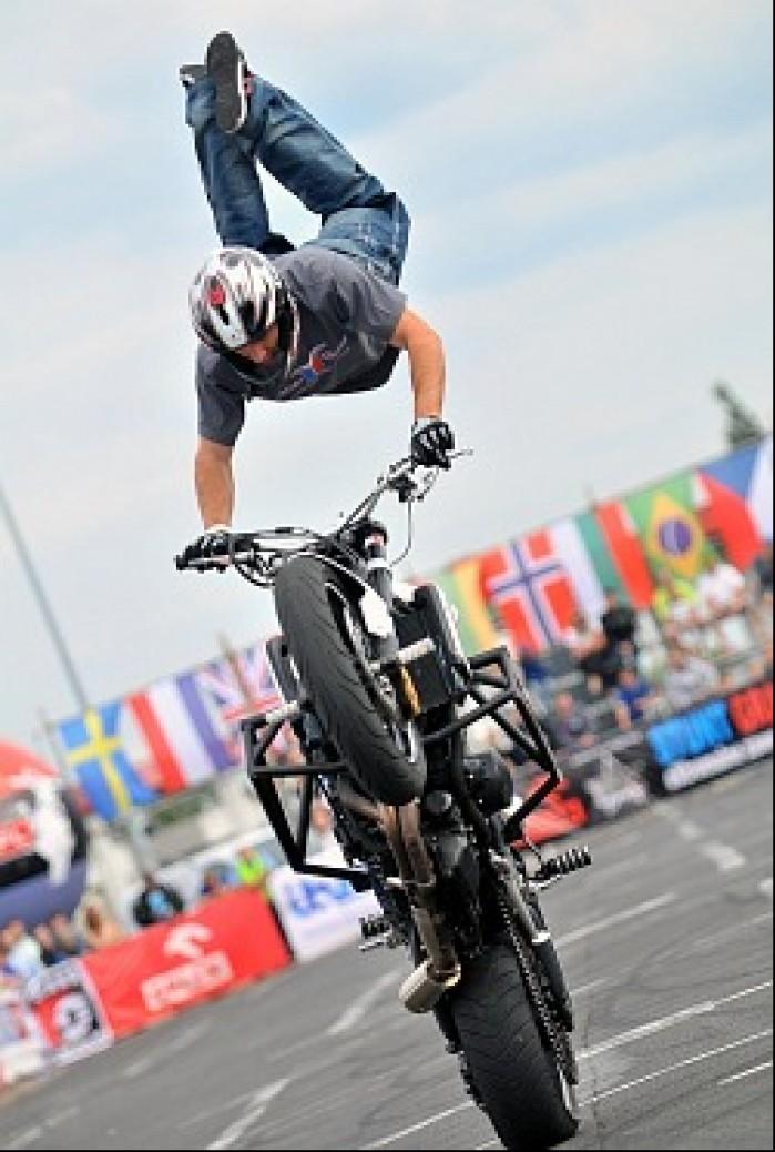 skok World Stunt GP w Bydgoszczy