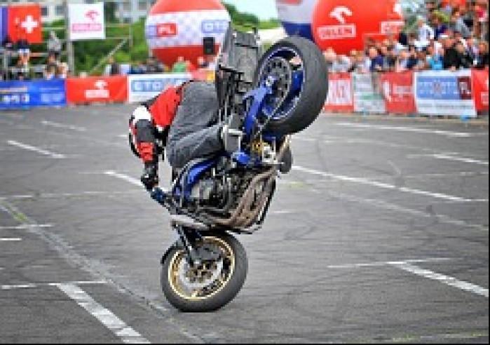stoppie World Stunt GP w Bydgoszczy