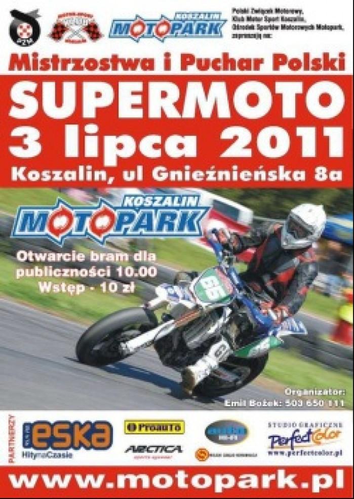 plakat III runda supermoto