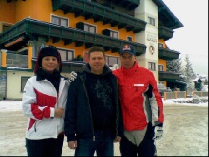 Jacek Grandys i Andy Meklau