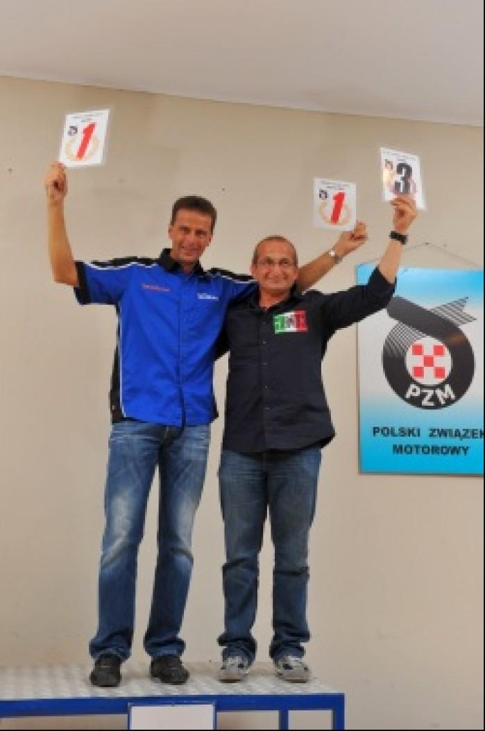 Meklau i Oskaldowicz na podium