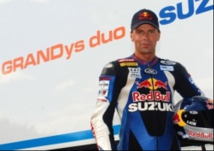 Andy Meklau Suzuki Grandys Duo