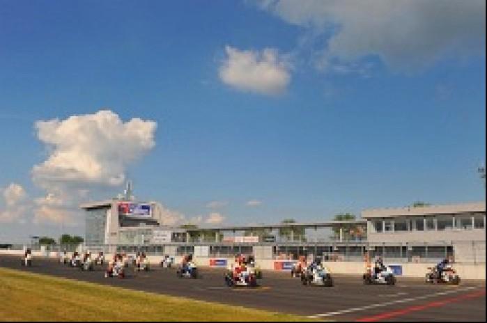 Start Suzuki GSX-R Cup Slovakiaring