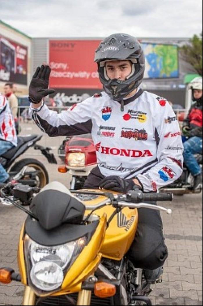 Wojtek Grodzki Honda Gymkhana 2012