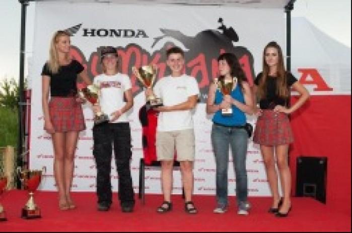 pudlo Honda Gymkhana Radom 2012