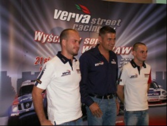 Robert Lukas Holek Kuba Giermaziuk Verva Street Racing Warszawa 2010