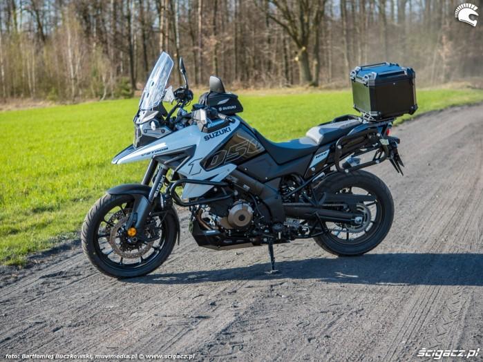Suzuki VStrom 10150 02 lewy bok