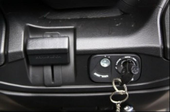 Burgman 400 Suzuki hamulec postojowy