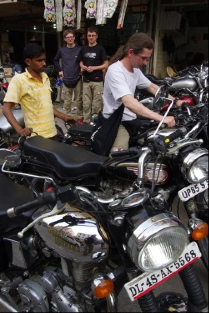 PIERWSZY DZIEN W DELHI