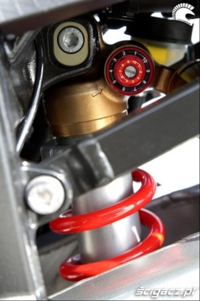 BMW S1000RR 2009 tylny zawias