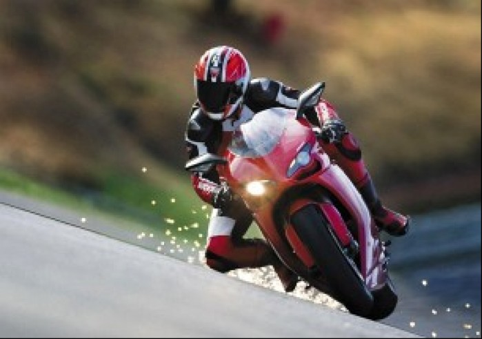 Ducati 1098 jazda