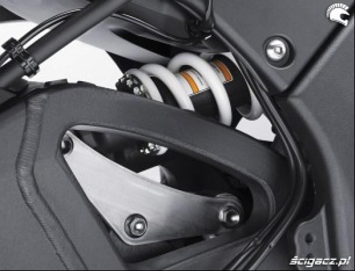 Kawasaki ZX10R poziomy amortyzator