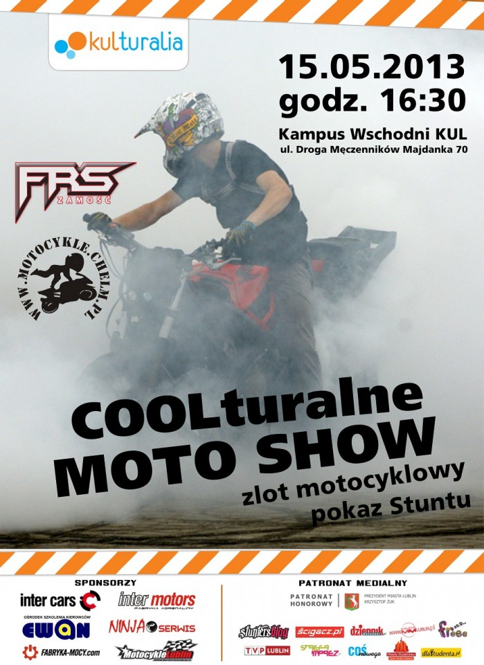 plakat moto show