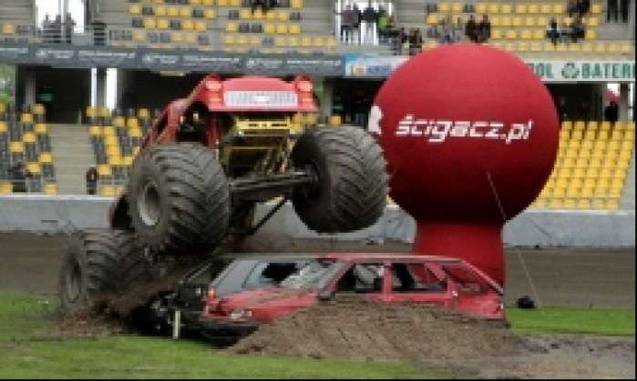 monster truck skok
