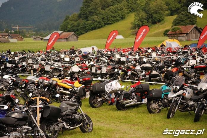 Motocykle na zlocie