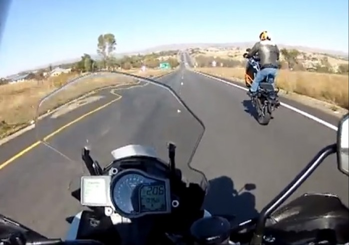 wheelie na KTM