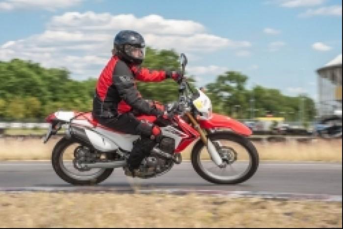 Andrzej CRF 250L Honda Fun Safety