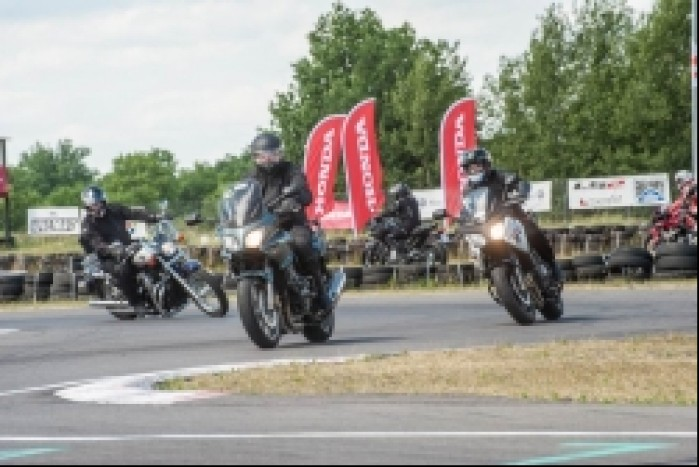 Honda Fun Safety trening na torze