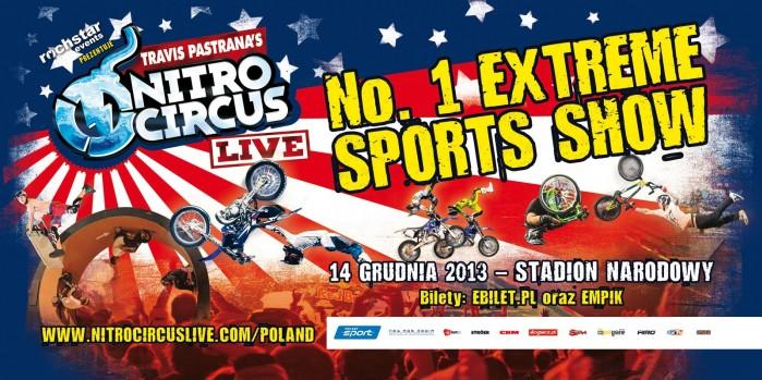 Nitro Circus Live Stadion Narodowy
